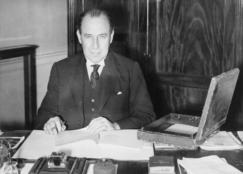 British Political Personalities 1936-1945 HU59483