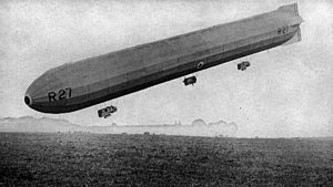 R23X-class airship - R27 during her brief career in the summer of 1918