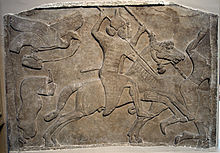 Assyrian Relief From Nimrud C 728 BC