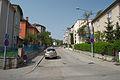 Brno-Cerna Pole - Tesnohlidkova ulice, vyfotografovana z Tisnovske ulice.jpg