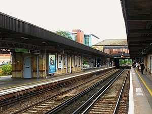 Bromley South railway station - Image: Bromley South station geograph.org.uk 937533