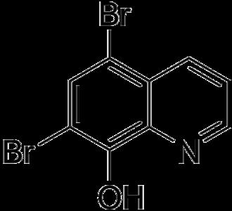 Broxyquinoline - Image: Broxyquinoline