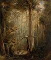 Brush scene, Brisbane Water, 1848 C. Martens.jpg