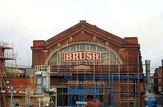 Loughborough - The Brush engineering works