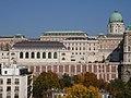 Budavári lovarda Főőrségi épület és Stöckl-lépcső.jpg