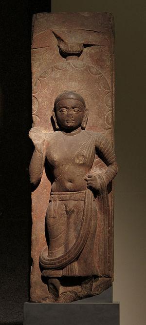 Chatra (umbrella) - Image: Buddha, Mathura I Ie s. Musée Guimet