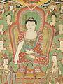 Buddha Seokgamoni (Shakyamuni) Preaching to the Assembly on Vulture Peak LACMA AC1998.268.1 (9 of 11).jpg