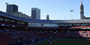 Coca-Cola Field - Image: Buffalo Skyline Viewed From Coca Cola Field