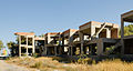 Buildings unfinished - Perissa - Santorini - Greece - 02.jpg
