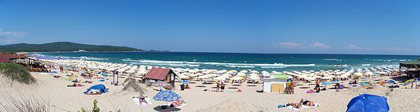 Северный пляж города