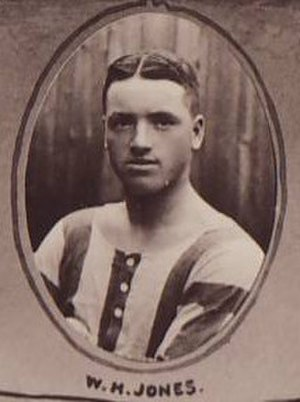 Billy Jones (footballer, born 1881) - Pictured in 1910