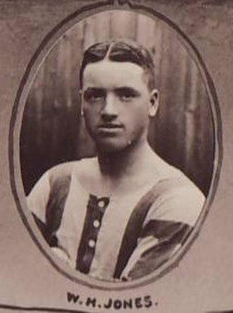 Billy Jones (footballer, born 1881) - Pictured in 1910