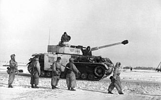 Battle of the Korsun–Cherkassy Pocket - Panzer IV tank in the Soviet Union