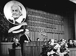 Bundesarchiv Bild 183-91292-0001, Berlin, Internationaler Frauentag, Festveranstaltung