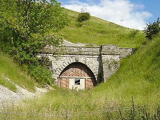 Malton and Driffield Junction Railway - Image: Burdale Tunnel geograph.org.uk 30840