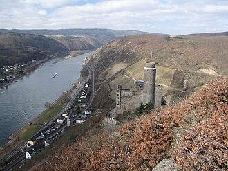 Maus Castle - Image: Burg maus 01s