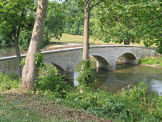 Ambrose Burnside - Burnside Bridge at Antietam in 2005