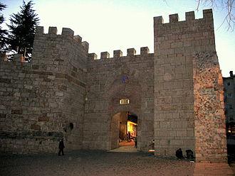 Siege of Bursa - Gate of Bursa castle