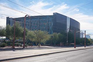 the central library of Phoenix, Arizona