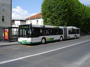 Ljubljana Passenger Transport - Image: Bus ljubljana