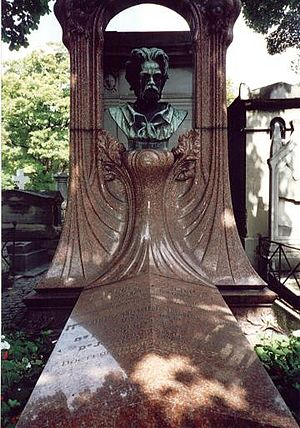 Philippe Solari - Bust of Émile Zola, Philippe Solari