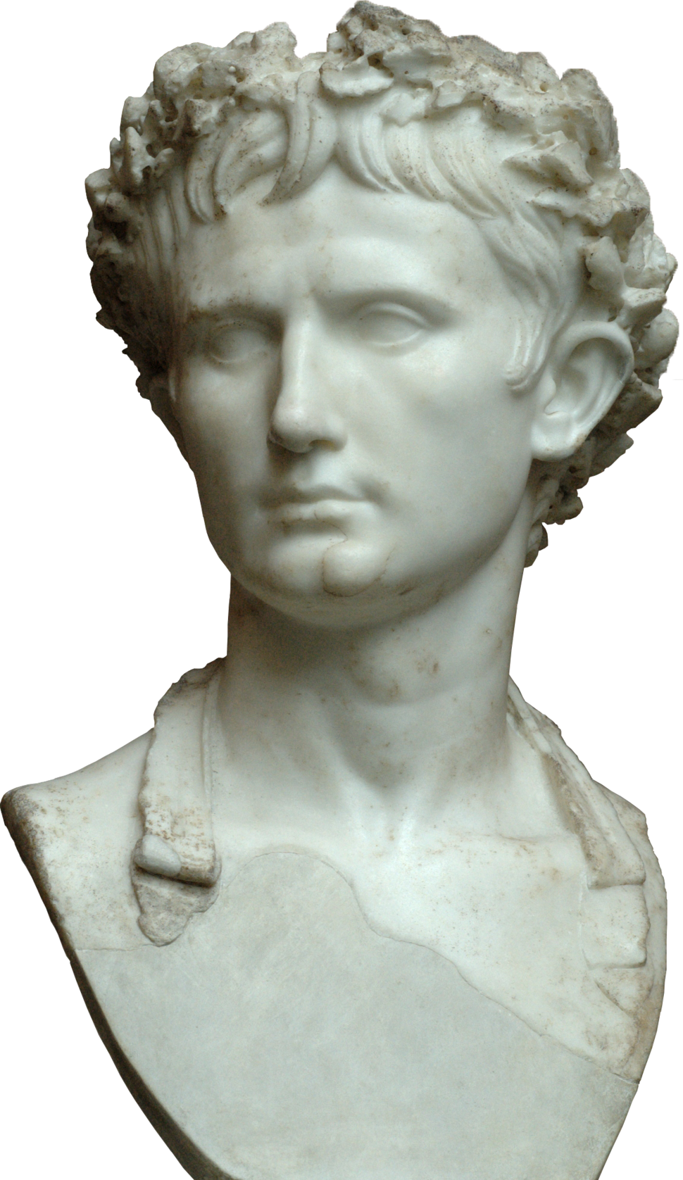 Bust of the Augustus Bevilacqua - trasparent background