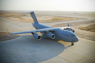 Jet fuel - The USAF C-17 Globemaster III was built to perform development testing.