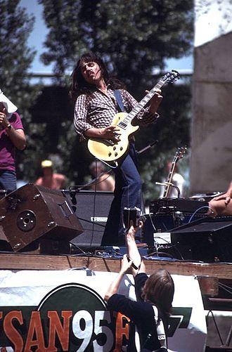 Craig Chaquico - Craig Chaquico with Jefferson Starship at KSAN95's Free Concert in Justin Herman Plaza, San Francisco - June 1, 1979
