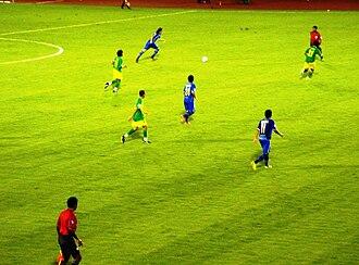 Chonburi F.C. - Chonburi FC with Kedah FA in AFC Cup 2009