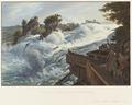 CH-NB - Rheinfall vom linken Ufer aus der Nähe - Collection Gugelmann - GS-GUGE-BLEULER-2b-40.tif