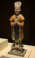 CMOC Treasures of Ancient China exhibit - tri-coloured figure of a civil official.jpg