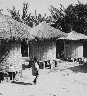 Makonde people - Makonde dwellings