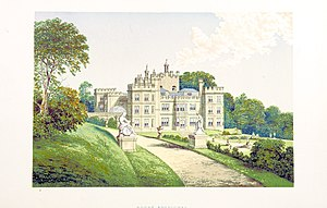 Mount Edgcumbe House - Illustrated in Morris's County Seats, 1869