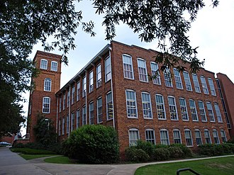 Clemson University - Godfrey Hall, constructed in 1897, formerly housed the Textile Department.