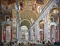 Ca' Rezzonico - Interno della basilica di San Pietro a Roma - Giampaolo Pannini.jpg