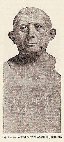 Jeu :identifions des monnaies retrouvées à Pompéi 220px-Caeciliusiucundus