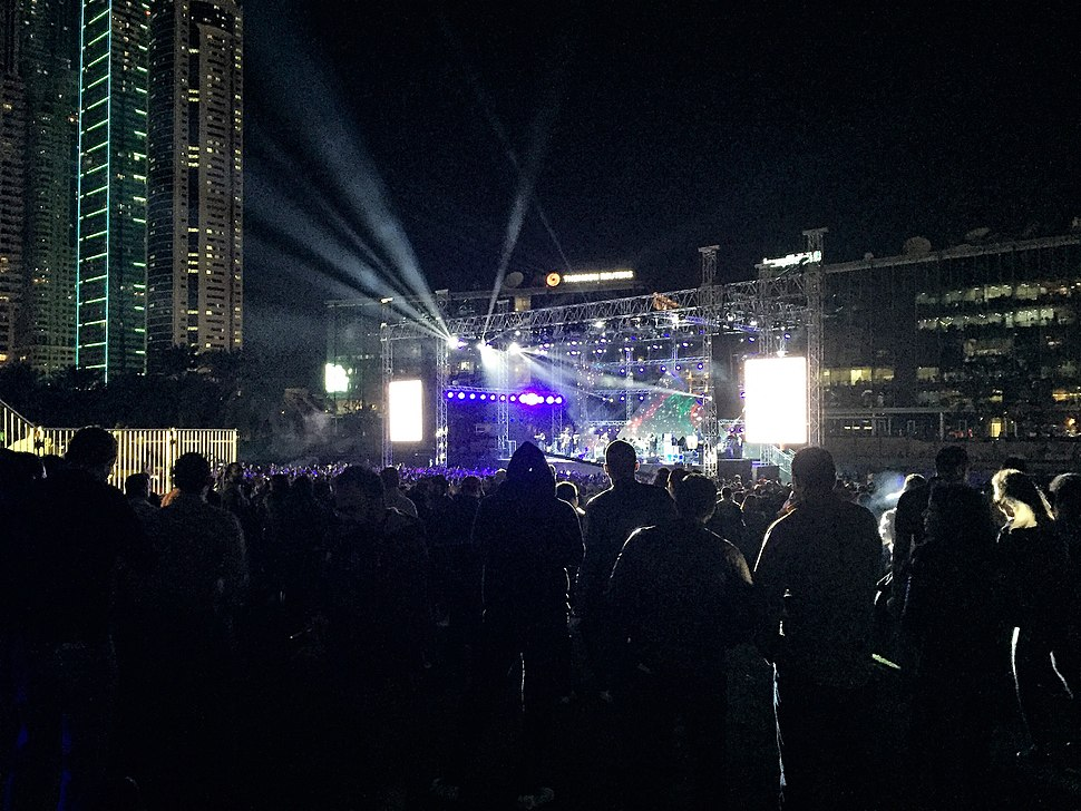 Cairo Sound Music Festival in January 2017