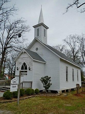 Calera, Alabama - Image: Calera, Alabama Presbyterian Church