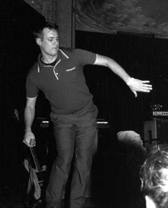 Beat Happening - Calvin Johnson performing at The Crystal Ballroom in Portland, Oregon