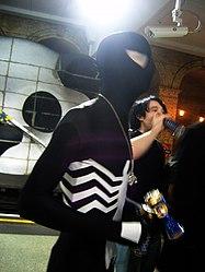 Cameras on Spiderman at Gloucester Road (2540703496).jpg