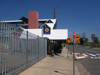 Campbelltown, New South Wales - Campbelltown Railway Station