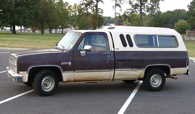 Truck Bed Camper Inside Old