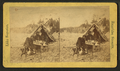 Camping out, from Robert N. Dennis collection of stereoscopic views.png