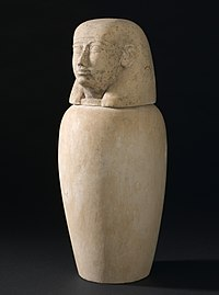 Canopic jar, Egypt Wellcome L0058462.jpg