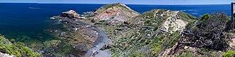 Cape Schanck - Image: Cape Schanck Panor