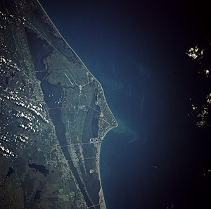 Cape Canaveral Photo from space