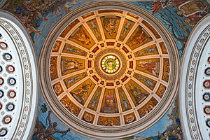 Capitol of Puerto Rico - Inside the capitol dome