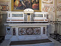 Cappella bardi di smn, altare di pier francesco silvani (1669) 02.JPG