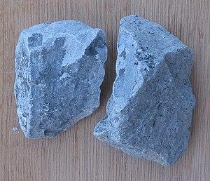 Carbide - Calcium carbide.