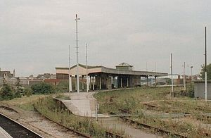 Cardiff Central railway station - Cardiff Riverside railway station in 1993